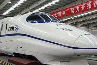 Китайський експрес встановив новий світовий рекорд швидкості