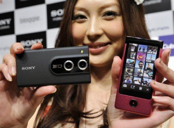 Sony Bloggie 3D, Bloggie Touch
