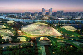 В Китае строят первый полностью экологический город