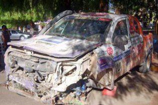 """На ралі """"Дакар-2011"""" водій вантажівки загинув у зіткненні з позашляховиком"""