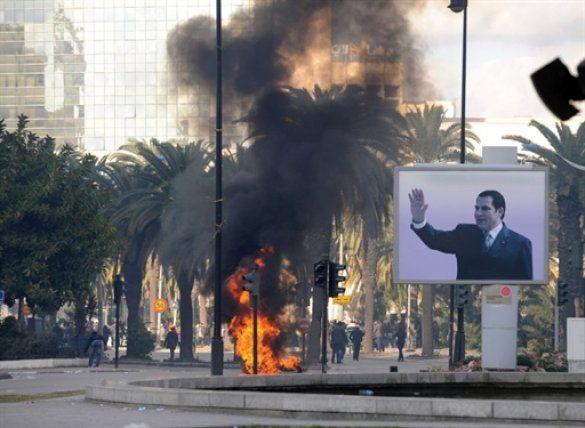 Заворушення в Тунісі