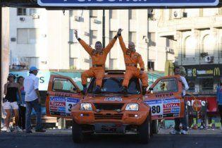 Українська команда вперше в історії фінішувала на Дакарі