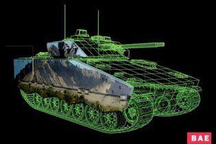 Британські вчені винайшли цифрову фарбу, що робить танки невидимими