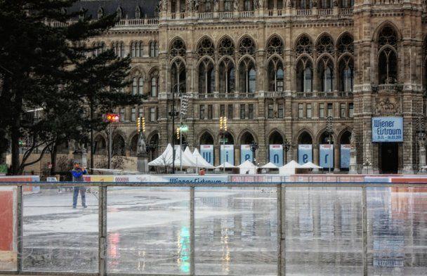 В Вене откроется самый большой каток Европы