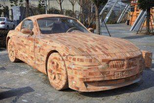 Китайцы создали BMW Z4 из кирпича