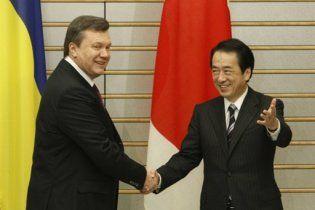 Янукович занял у японцев 8 млрд иен