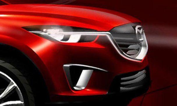 Mazda показала свой первый компактный кроссовер