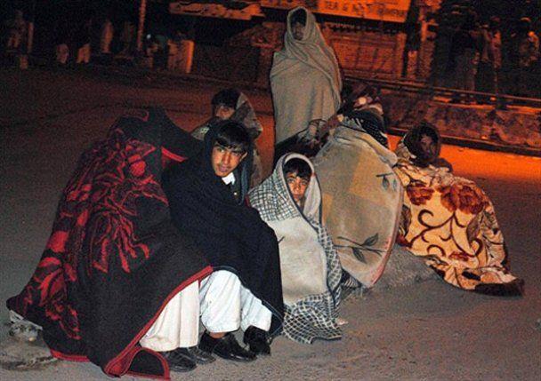 В Пакистане произошло мощное землетрясение