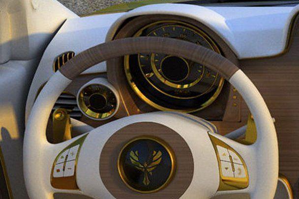 Італійці створили золотий Fiat за півмільйона євро