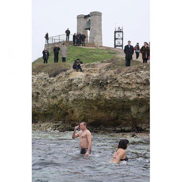 В Украине отметили праздник Крещения Господня