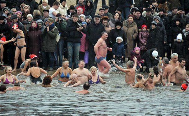 В Україні відзначили свято Хрещення Господнього