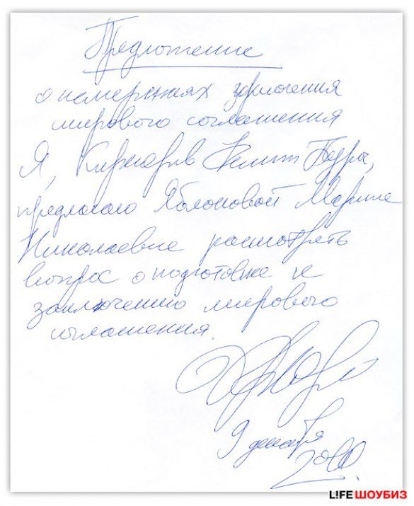 Документ Кірокрова