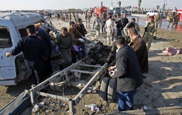 Из-за теракта в Ираке погибли почти полсотни человек