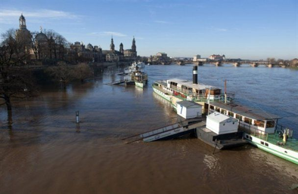 Германия и Польша страдают от новой волны наводнений