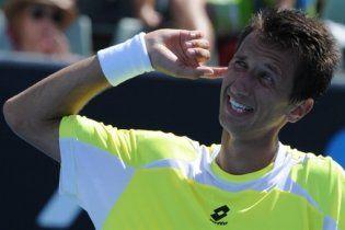 Стаховський вилетів у третьому колі Australian Open