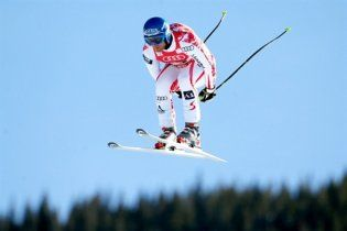 Австрійський гірськолижник розбився на тренуванні (відео)