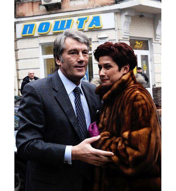 Ющенко поскандалил под Генпрокуратурой