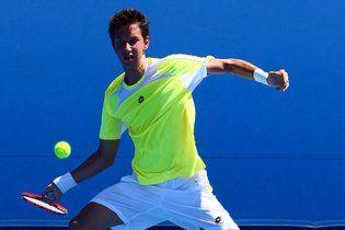 Украинец вышел в 1/8 финала юниорского Australian Open