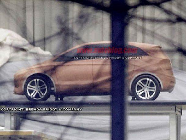 У шпионов появились фото модели нового Mercedes-Benz A-Class