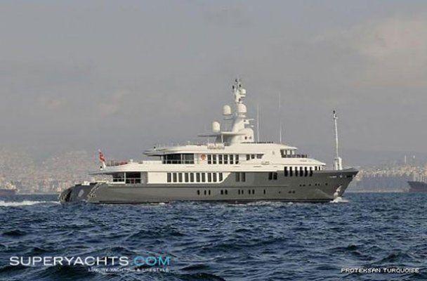 Супер-яхта президента РФ Дмитрия Медведева
