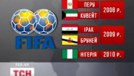 Возможная дисквалификация Федерации футбола Украины