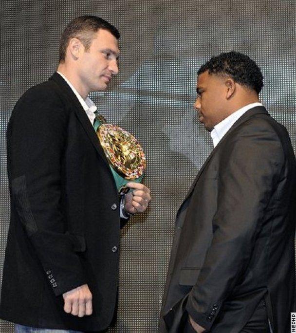 Кличко и Солис провели первую пресс-конференцию