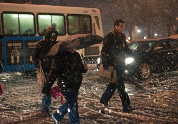 Потужні снігопади в США відрізали Обамі дорогу до Білого дому