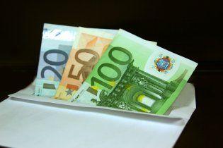 В Україні продовжує дорожчати євро
