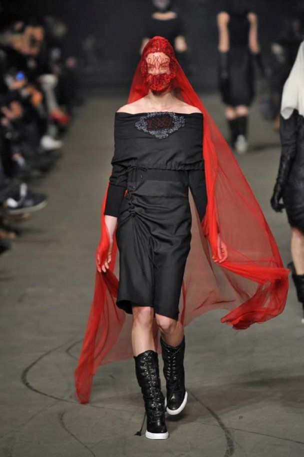 Красным по черному