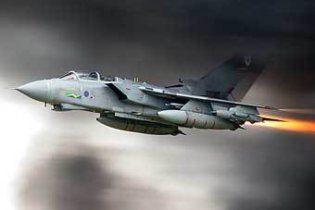 """В Шотландии разбился истребитель """"Торнадо"""" ВВС Британии"""
