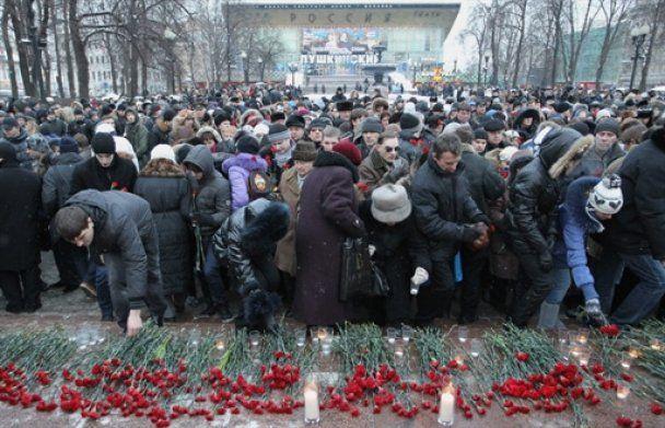 """Москва прощается с жертвами теракта в """"Домодедово"""""""