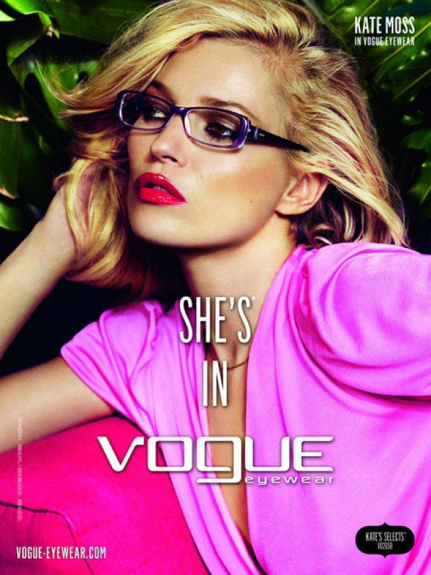 Кейт Мосс стала лицом Vogue