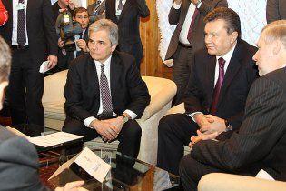 Янукович рассказал в Давосе о своей мечте