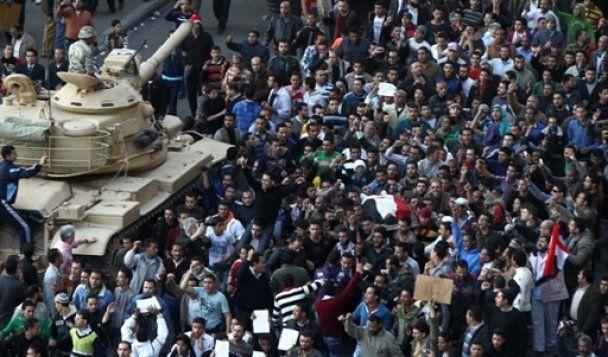 Тысячи осужденных сбежали из тюрем в Египте
