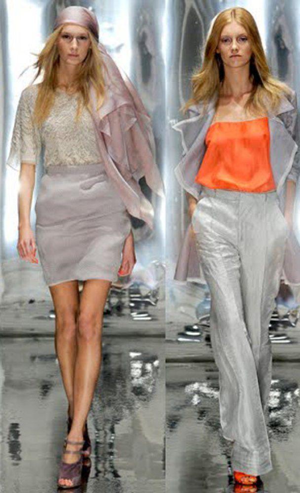 Весной в моде снова классика и яркие цвета