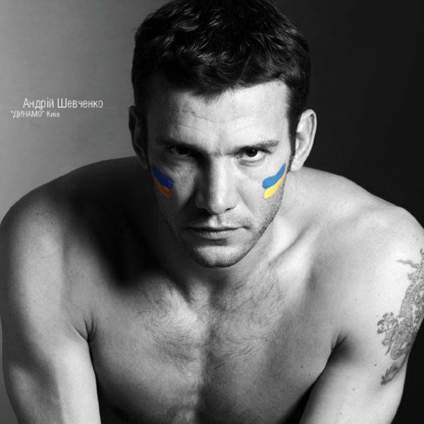 Футболисты сборной Украины разделись для календаря