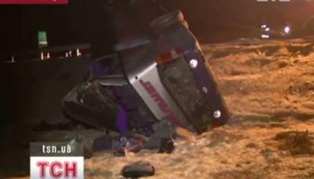 Автобус з українцями потрапив в аварію в  Польщі