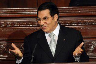 У свергнутого президента Туниса отобрали личный самолет