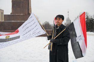 """У центрі Харкова єгиптянин влаштував """"революцію"""""""