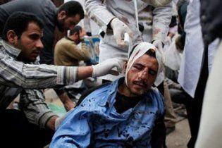 В Египте дипломатический автомобиль сбил десятки демонстрантов (видео)