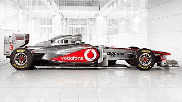 McLaren представила новый болид MP4-26 (видео)
