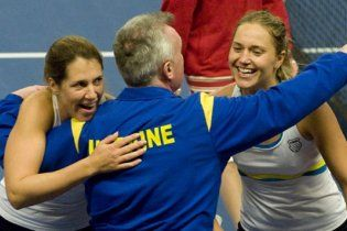 Украина победила Швецию в Кубке Федераций