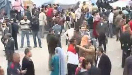 Массовые акции протеста в Египте продолжаются с 25 января