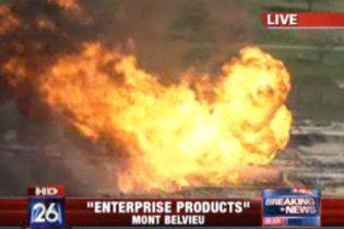 В США взорвался нефтеперерабатывающий завод. ВИДЕО