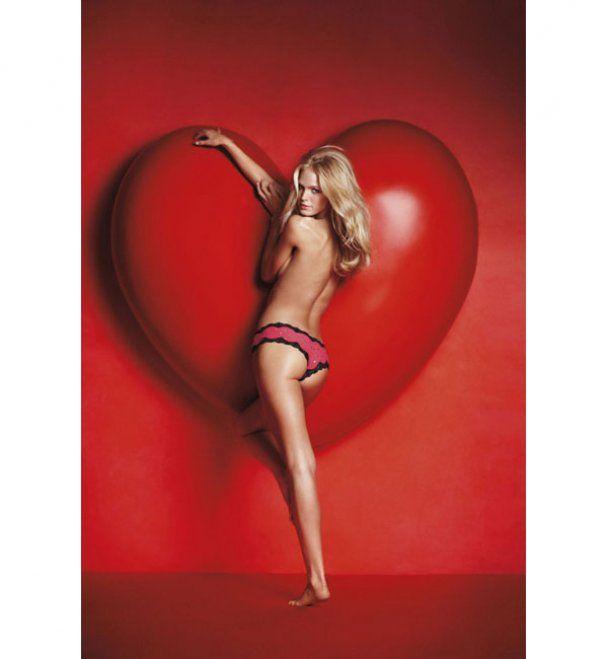 Ангелы Victoria's Secret готовятся ко Дню святого Валентина