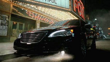 Eminem снялся в рекламе Chrysler
