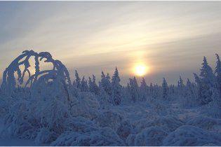 Погода в Украине на четверг, 24 февраля