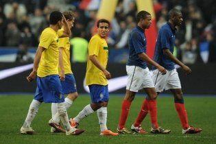 Франція тріумфувала у грі з Бразилією (відео)