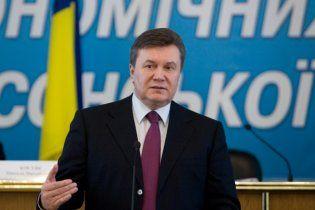 Янукович выступил на криминальном жаргоне