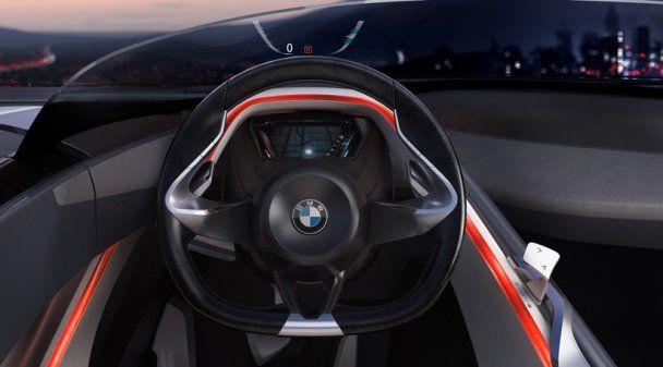 """BMW представила супер-родстер - """"автомобіль майбутнього"""""""